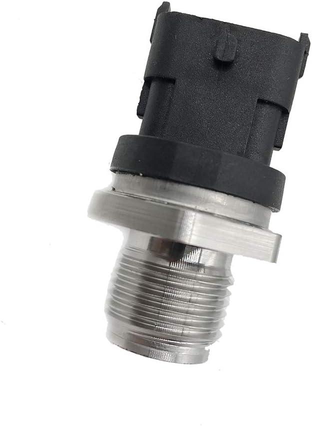 kmdiesel brand 0281006327 Diesel Fuel Injection Fuel Rail Pressure Sensor for 2007-2012 Dodge Ram 2500 3500 6.7L Cummins Replace 028102850 5261237