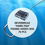 TROUTBOY Round Jig Head, 25Pcs Ultrahead Bullet Jig Fishing Hook Jigheads Set, with Plastic Fishing Box, for Soft Bait Lure Freshwater Saltwater Fishing
