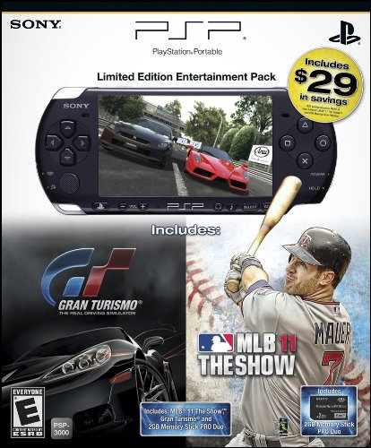 PlayStation Portable Limited Edition MLB 11 & Gran Turismo Entertainment Pack (Psp 3000 Special Edition)