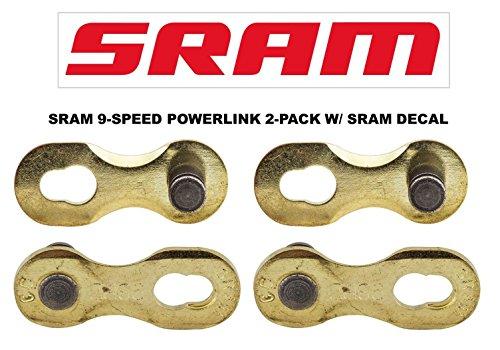 SRAM PowerLink Chain Connector 9-speed Gold Chain Link w/ SR