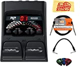 DigiTech RP55 Multi-Effects Pedal Bundle with Instrument Cable, Patch Cable, Picks, and Austin Bazaar Polishing Cloth