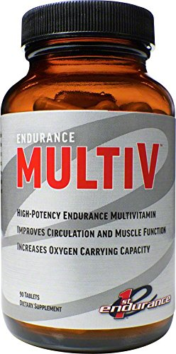 (First Endurance Multi V Performance Multivitamin - Training Supplement Designed For Endurance Athletes | 30 Count)