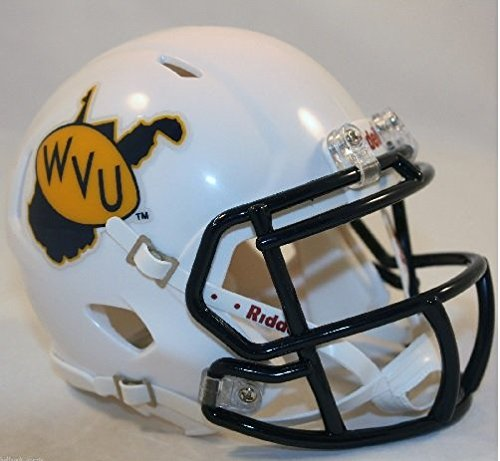 Virginia Mountaineers Riddell Throwback Football