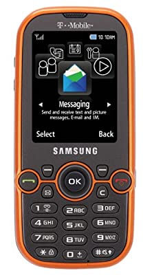 Samsung Gravity 2 T469 Cell Phone T-Mobile Orange