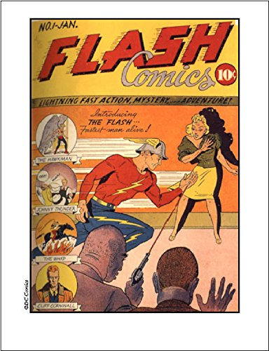 'Flash Comic Cover' limited edition Litho with COA