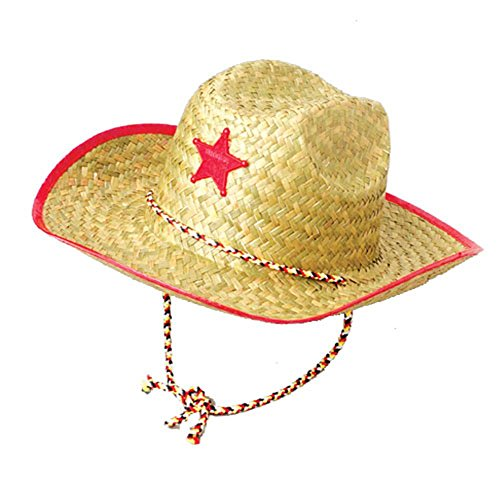 S&S Worldwide Children's Sheriff's Hat (1 ct) (1 per package),Red or Blue