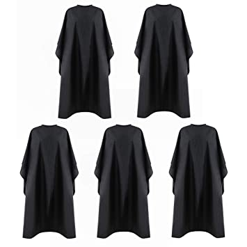 SSDXY Barber Cape Unisex,Waterproof Hair Styling Cape Nylon Haircuting Salon Cape Gown Hair Salon with Snap Closure