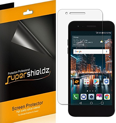 [6-Pack] Supershieldz for LG Tribute Dynasty Screen Protector, High Definition Clear Shield + Lifetime Replacements Warranty