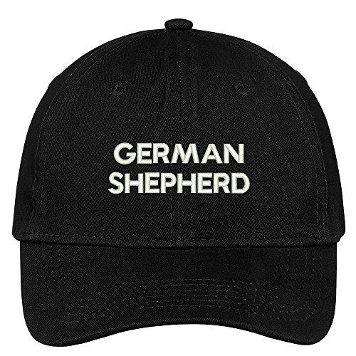 Trendy Apparel Shop German Shepherd Dog Breed Embroidered Dad Hat Adjustable Cotton Baseball Cap - ()
