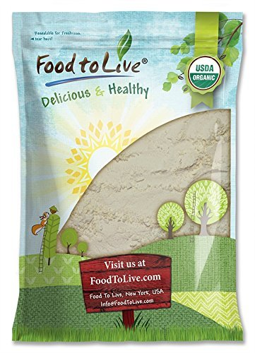 Organic Guar Gum Powder by Food to Live  — 5 Pounds