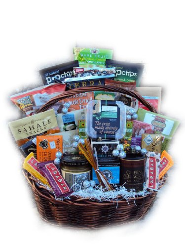 Healthy New Year Family Basket by Well Baskets