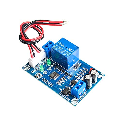(XH-M203 Full Automatic Water Level Controller Pump Switch Module AC/DC 12V Relay Sensors Module Water Level)