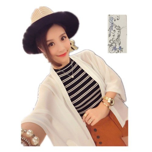 浩華 レディース ボレロ 女性 カーディガン 薄手 シフォン アウター 日焼け ビーチコート 冷房対策 UVカット 冷房体型カバー