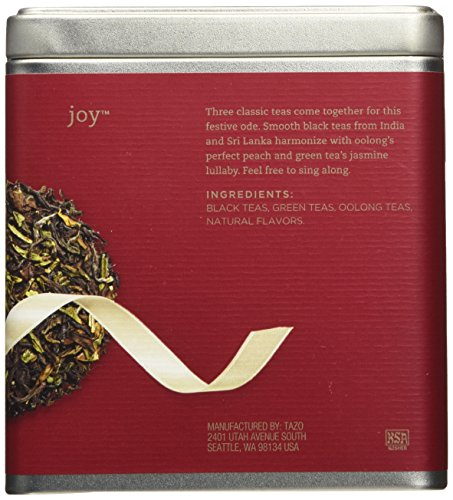 Tazo Joy, Black Green and Oolong Full Leaf Tea