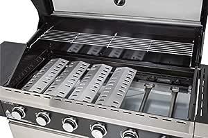 Gasmate Fortuna 6 Burner Stainless Steel BBQ