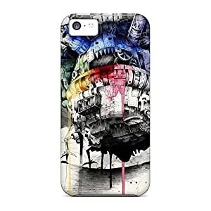 Back phone carrying covers High Quality covers iphone 4 /4s - howls moving castle