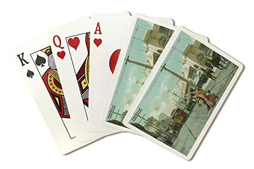 San Francisco, California - Northern View of Fillmore St from O'Farrell St (Playing Card Deck - 52 Card Poker Size with - Farrell St O