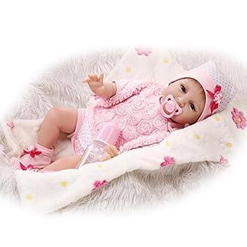 Amazon.es: NPK - Chupete Realista de Silicona Suave para bebé recién Nacido, de 55 cm: Juguetes y juegos