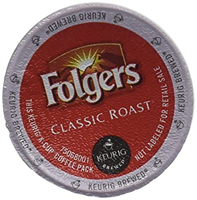 Folgers Gourmet Selections Classic Roast Coffee(Meduim Roast) Keurig K-Cups, 24 Count (Pack of 4) by FOLGERS