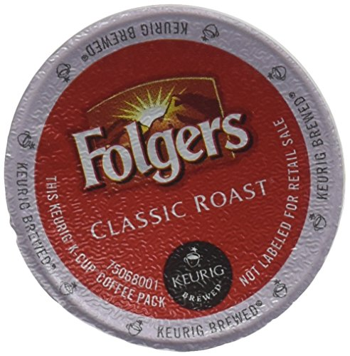Folgers Gourmet Selections Classic Roast Coffee(Meduim Roast) Keurig K-Cups, 24 Count (Pack of 4) (Classic Gourmet Coffee)