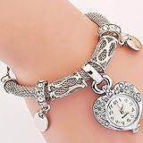 Style Fashion Watches Women Dress Luxury Love Heart Bracelet Wristwatch Valentine's Day gift