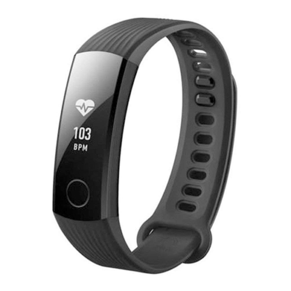 FCGV Huawei Honor Band 3 Smart-Armband Bluetooth-Uhr Pulsmesser-Schwarz