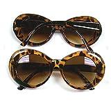 Jackie O's Tortoise Sunglasses Brown Lenses