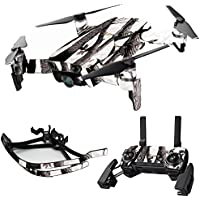 MightySkins Skin for DJI Mavic Air Drone - Artic Camo | Max Combo Protective, Durable, and Unique Vinyl Decal wrap cover | Easy To Apply, Remove, and Change Styles | Made in the USA