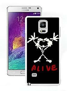 pearl jam alive White Fashion Customize Design Samsung Galaxy Note 4 N910A N910T N910P N910V N910R4 Phone Case