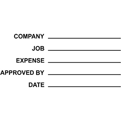 amazon com general ledger expense approved stamp accounting stamp