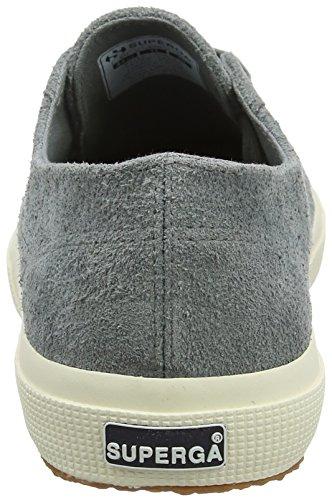 Superga 2750 Hairysueu, Baskets Mixte Adulte Grey (Dark Grey Sage)