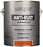 Valspar 21837G Safety Orange Enamel - 1 Gallon