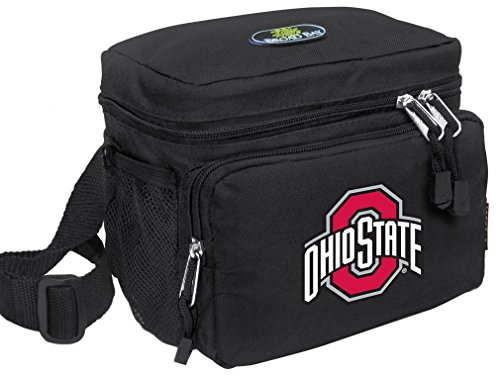 Broad Bay Ohio State University Lunch Bag OFFICIAL NCAA OSU Buckeyes Lunchboxes by Broad Bay