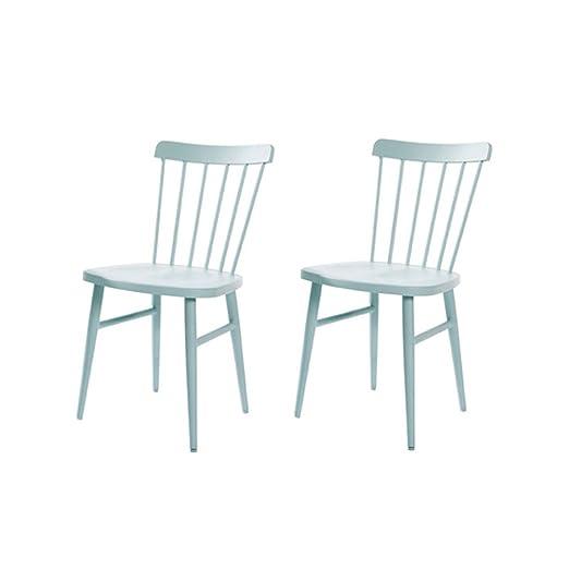 YYHSND Nordic Windsor Chair American Restaurant Minimalista ...