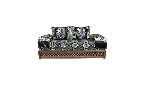 Casa Moro Oriental sofá marroquí, Asiento cojín Asiento ...