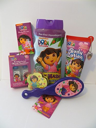 Dora the Explorer Mega Bath Set (8 Pieces)