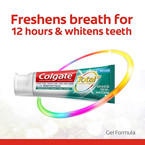 Colgate Total Advanced Fresh + Whitening Gel Toothpaste, 4 Count by Colgate (Image #2)