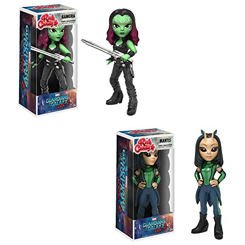Rock Candy! Movies: Guardians of the Galaxy 2 Mantis and Gamora! Set of ()