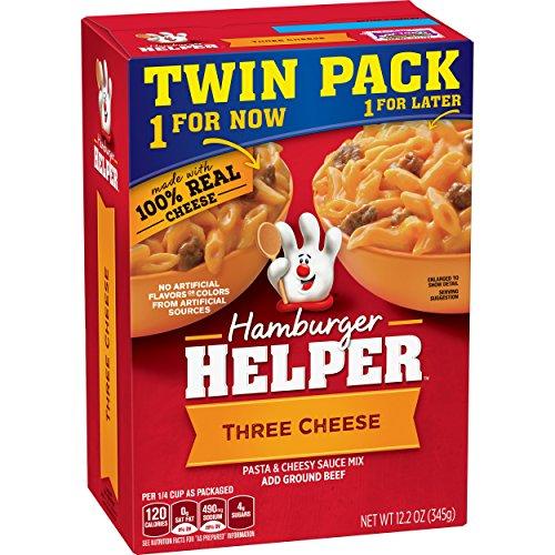 Betty Crocker Hamburger Helper Three Cheese, 12.2 ()