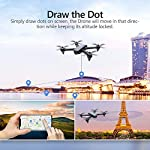 Brushless GPS FPV RC Drone, Potensic D60 Drone with 1080P Camera Live Video & GPS Return Home, RC Quadcopter for Adults with Strong Brushless Motors, Follow Me & 5G WiFi Transmission