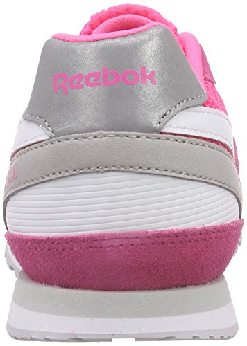Reebok Pink Steel Gris 3000 Zapatillas Blanco White Mujer Rosa de Running Solar GL rvpTwxqRr