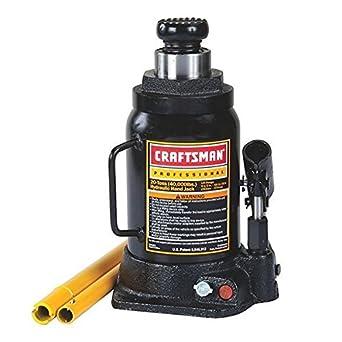 Craftsman - Gato hidráulico profesional para botella, 20 toneladas (2 unidades)