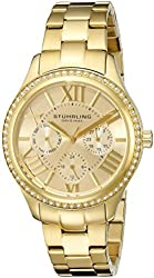 Stuhrling Original Women's 391LS Lady Majestic Swarovski Crystal-Accented Watch