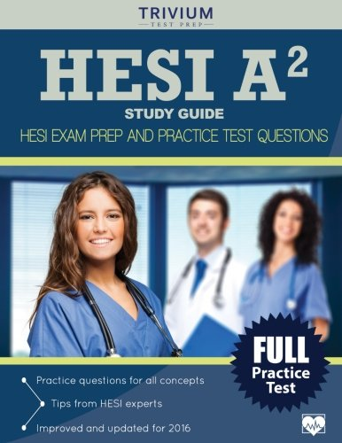 HESI A2 Study Guide: HESI Exam Prep and Practice Test Questions cover