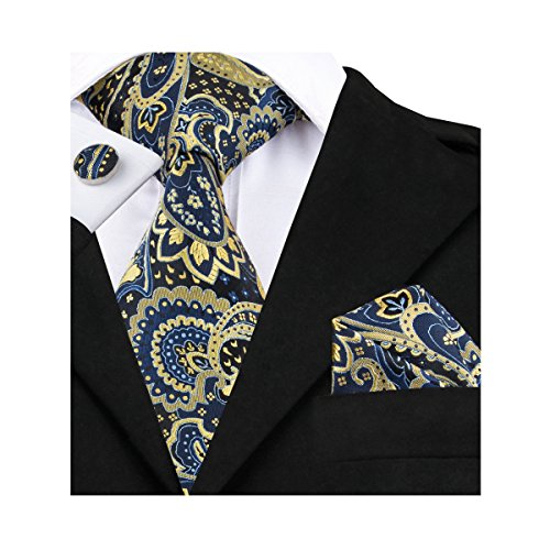 Blue Gold Necktie - 2
