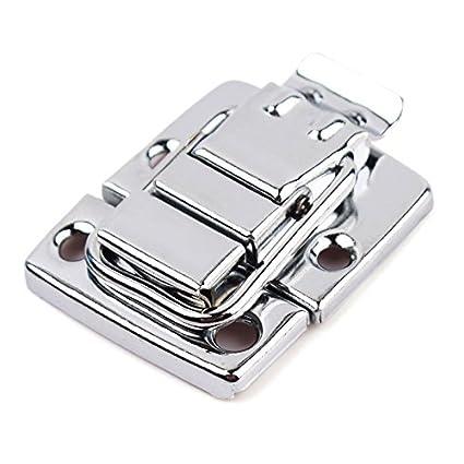 zhuotop cromado de acero inoxidable Toggle Latch para caja de pecho caso maleta herramienta cierre
