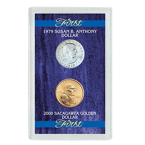 American Coin Treasures First 1979 Susan B. Anthony Dollar and 2000 First Sacagawea Dollar (2000 Dollars)