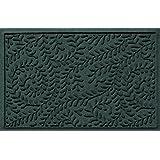 Bungalow Flooring Waterhog Indoor/Outdoor Doormat, 2' x 3', Skid Resistant, Easy to Clean, Catches Water and Debris, Boxwood Collection, Evergreen