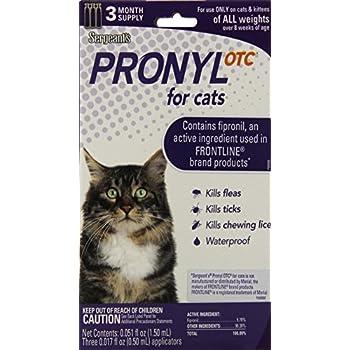 Sergeant S Pronyl Otc Plus For Cats Reviews