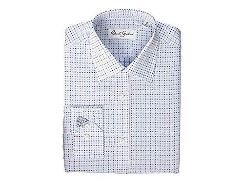 (Robert Graham Mens Chanty Long Sleeve Dress Shirt Blue 16.5 (LG))